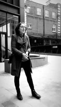 Pic of Jo on walking tour
